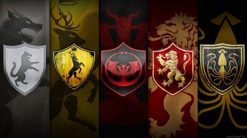 Game of Thrones Wallpaper 01 of 20 - Herarldry