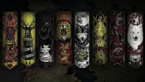 Game of Thrones Wallpaper 05 of 20 - Heraldry in Westeros