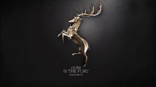 Game of Thrones Wallpaper 07 of 20 - Ours is The Fury House Baratheon