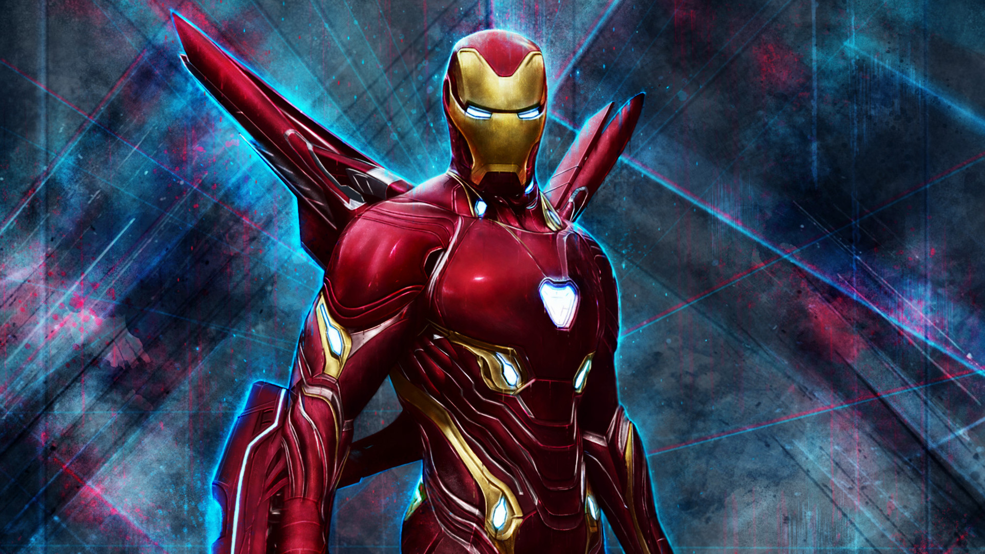 Iron man wallpaper with mark l armor suit hd wallpapers - Iron man wallpaper anime ...