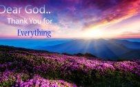 Every Day Motivation 01 of 20 - Dear God