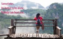 Every Day Motivation 02 of 20 - Women Alone