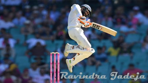 Indian Cricket Wallpaper with Picture of Ravindra Jadeja