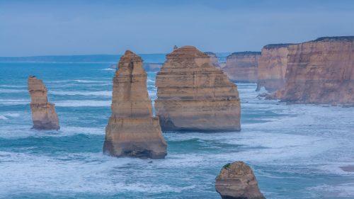 Twelve Apostles Marine National Park Australia by DirkV
