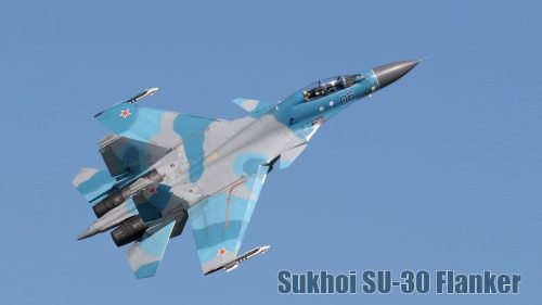 Fighter Jet Wallpaper with Sukhoi SU-30 Flanker