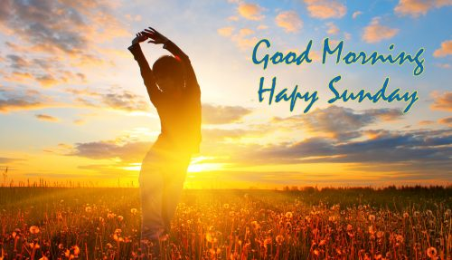 Good Morning Wallpaper With Happy Sunday Images