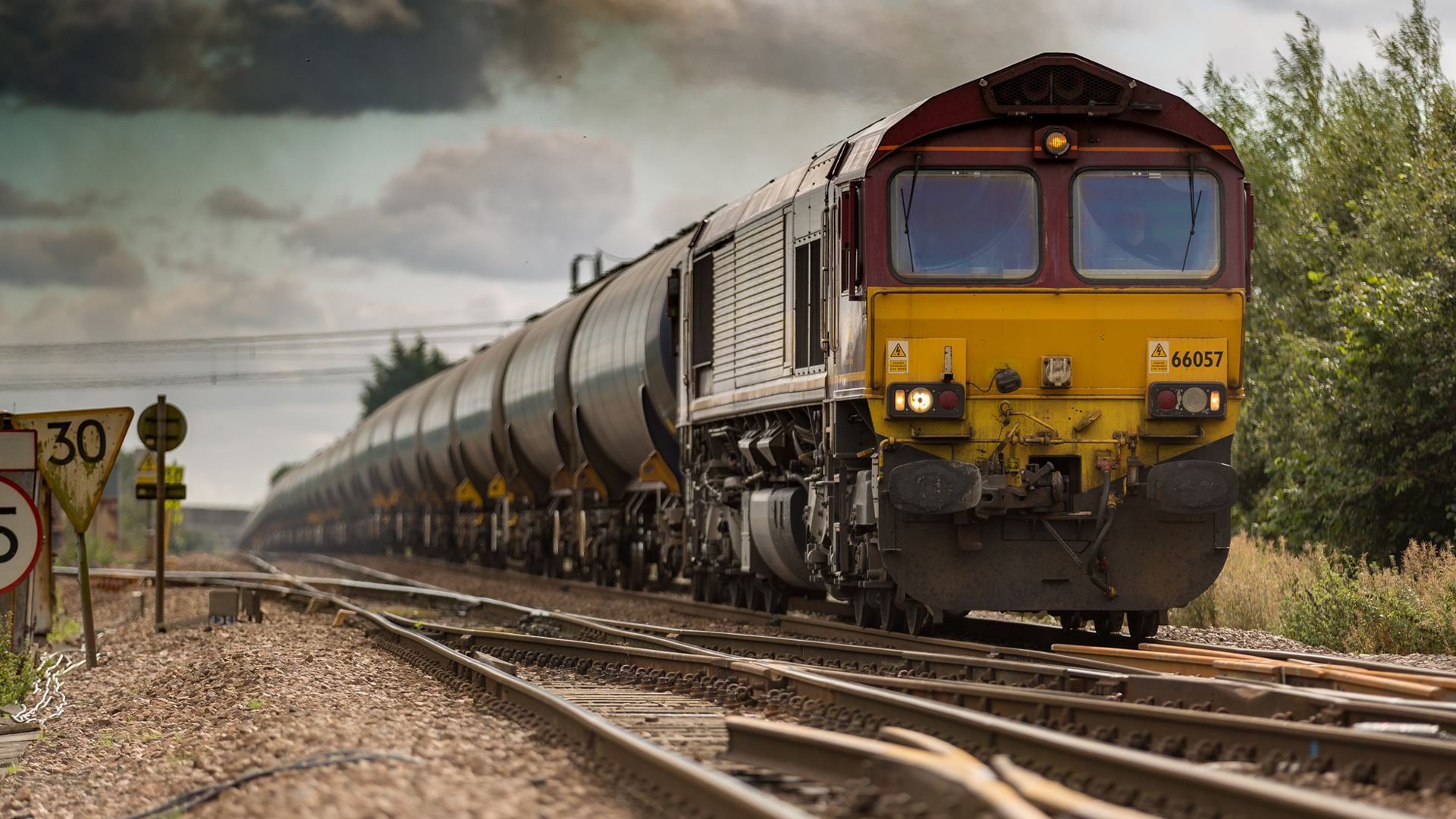 Train Photo Download With Freight Train On Railways