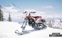 PUBG Wallpaper Full HD - Playerunknown's Battlegrounds Special Vehicle - Snowbike