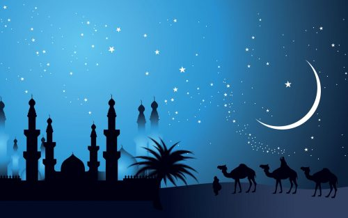 Islamic Wallpapers HD Full Size with Night Background