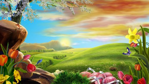 Images of Nature in 3D for HD Desktop Background