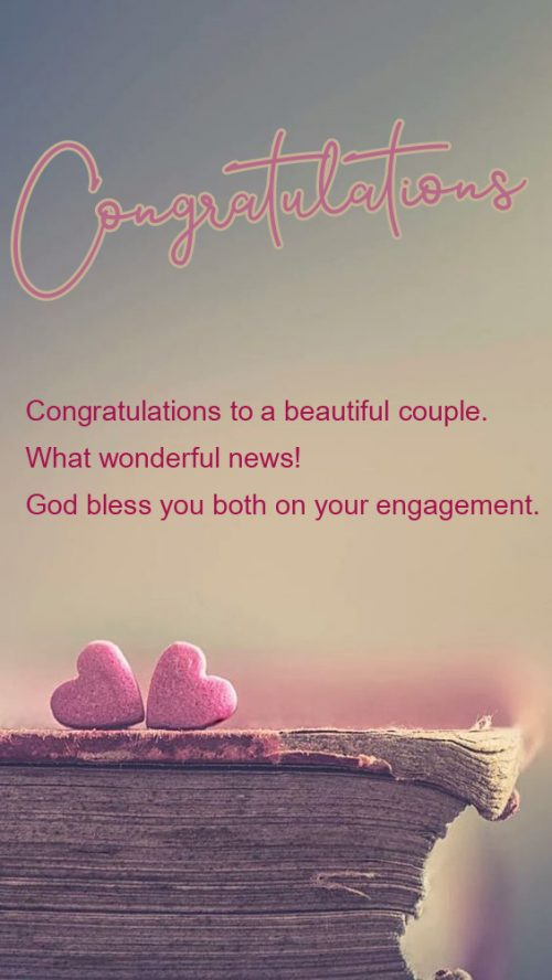 Congratulations Images for Engagement with Wishes