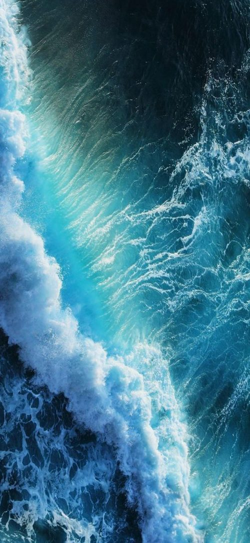 Beach Wallpapers for Phone with Close Up Wave Photo