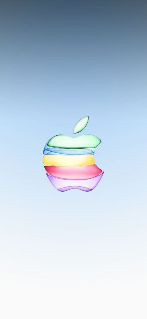 10 Alternative Wallpapers for Apple iPhone 11 - 09 - 3D Colorful Logo