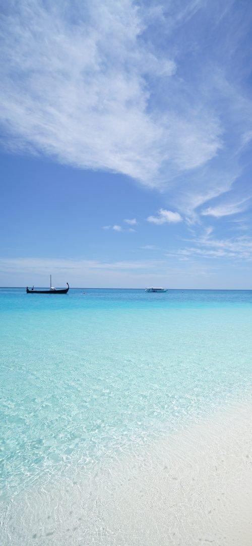 Beach Wallpaper for iPhone 11 Pro Max - 06 - Beautiful Blue Beach on Idyllic Island