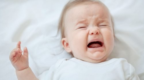 Picture of Baby Girl Crying - Reasons for Baby Crying