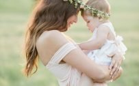 Top 20 Baby Quotes and Sayings for Mom 11 - The days are long