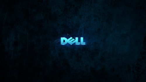 Top 20 Wallpapers for Dell Laptops - 01 - Glowing Blue Dell 3D Logo