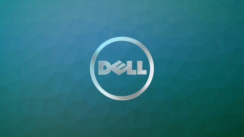 Top 20 Wallpapers for Dell Laptops - 14 - Dell Logo on Blue Polygonal Pattern
