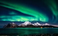 Beautiful Nature Wallpaper Big Size #26 – 4K Picture of Aurora Borealis in Norway