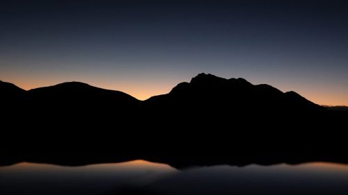 Beautiful Nature Wallpaper Big Size #48 – Morning Silhouette in Western Cape