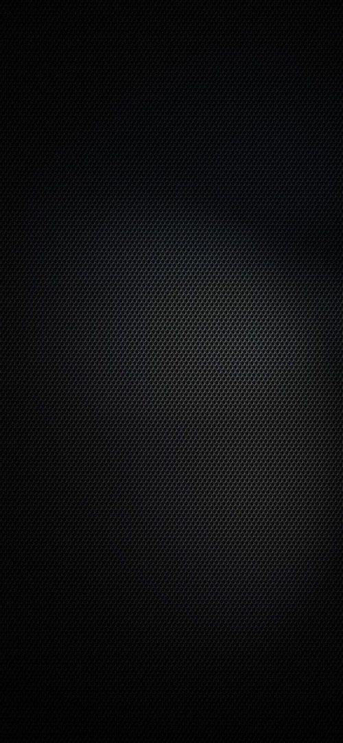 Free iPhone 11 Wallpaper Download 17 of 20 - Pure Black Background with Hexagon Pattern