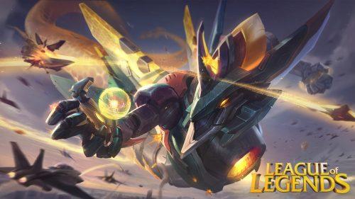 League of Legends Wallpaper 1920x1080 - 06 - Aurelion Sol The Star Forger