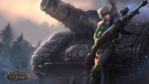 League of Legends Wallpaper 1920x1080 - 16 - Caitlyn the Sheriff of Piltover