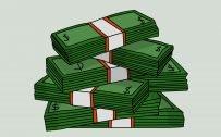 Money Wallpaper 11 of 27 – Money Stack Image in Cartoon