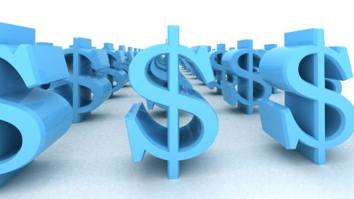 Money Wallpaper 16 of 27 – Money Sign Pictures in Blue Color