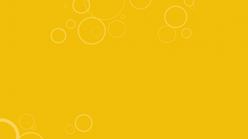 Yellow Mustard Wallpaper 11 0f 20 with Abstract White Circles