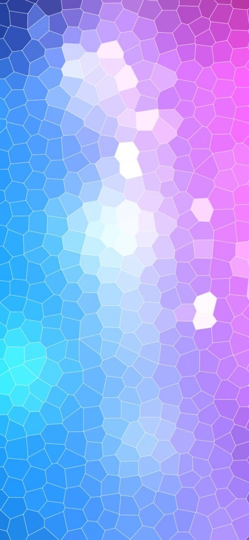 Cool Phone Wallpapers for Top 10 Smartphones - 08 - Huawei P40 lite E Background with blue and pink abstract geometric