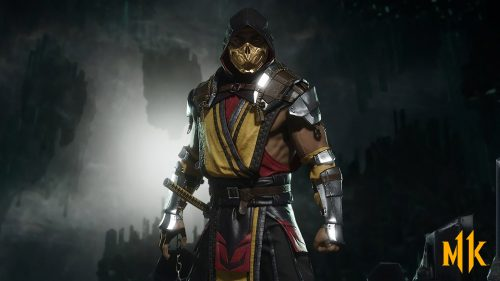 Mortal Kombat 11 Characters Wallpapers 08 0f 31 - Scorpion