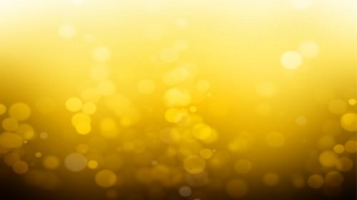 Yellow Mustard Wallpaper 15 0f 20 with Abstract Lights and Darker Bottom