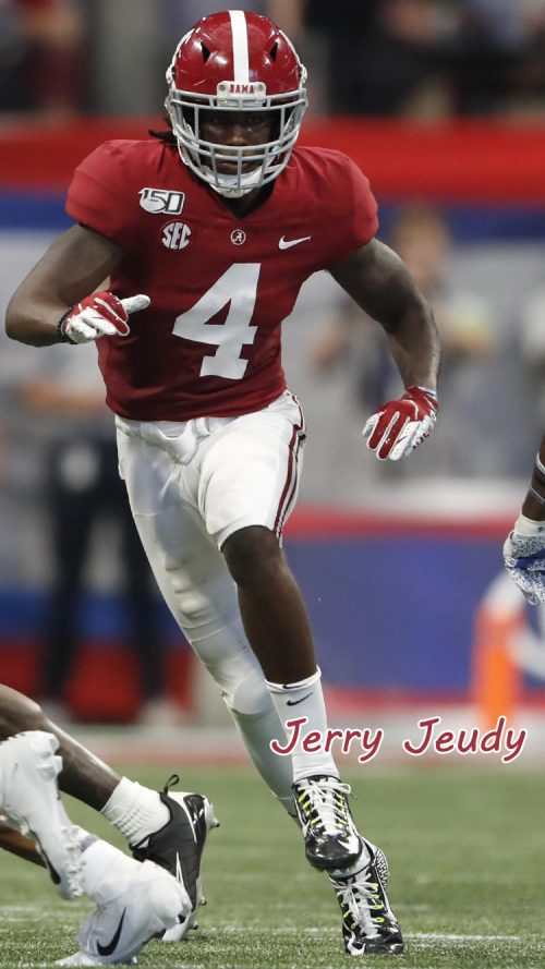 Apple iPhone SE Wallpaper 18 0f 50 - Jerry Jeudy - Alabama Roster