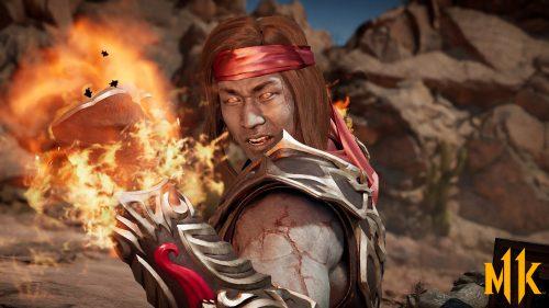 Mortal Kombat 11 Characters Wallpapers 30 0f 31 - Liu Kang