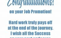 Congratulations Images for Promotion with Blue Artistic Border