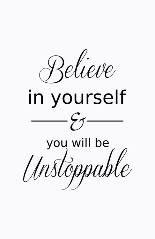 20 Best Friday Thoughts and Inspirational Quotes Wallpapers - Believe in yourself