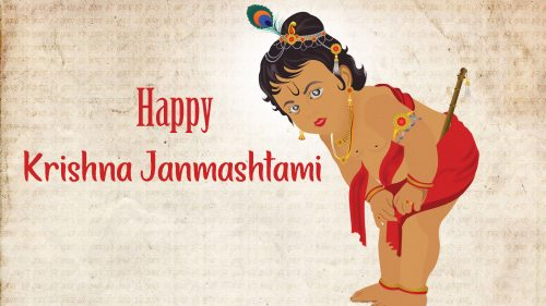 Happy Krishna Janmashtami Images in HD 1080p