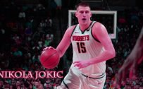 Nikola Jokić Denver Nuggets for NBA Wallpaper
