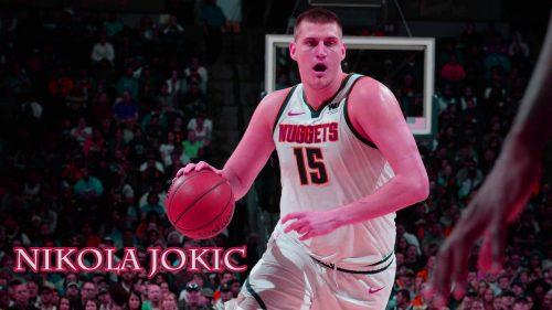 Nikola Jokić Denver Nuggets for NBA Wallpaper