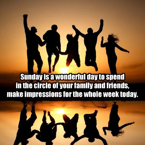 20 Best Sunday Thoughts Images and Inspirational Quotes 08 - Sunday is a wonderful day