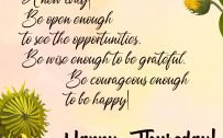 20 Best Thursday Thought Wallpapers as Motivational Quotes 05 - Be open enough to see the opportunities