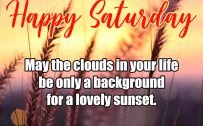 20 Most Favorite Saturday Thoughts and Motivational Images 03 - Background for a lovely sunset