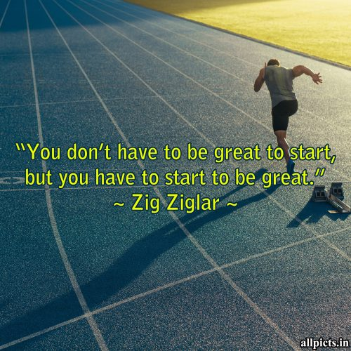 20 Best Monday Thought Wallpapers for Enthusiasm and Motivation 05 - You don't have to be great to start