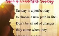 20 Best Sunday Thoughts Images and Inspirational Quotes 12 - Sunday is a perfect day