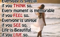 20 Best Thursday Thought Wallpapers as Motivational Quotes 08 - Everyday is special