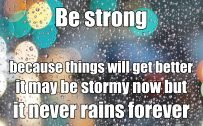 20 Best Thursday Thought Wallpapers as Motivational Quotes 09 - Be strong
