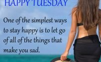 20 Most Favorite Tuesday Motivation Images and Tuesday Thoughts 12 - Simplest ways to stay happy