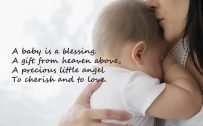 10 Best Baby and New Mom Quotes – 08 - A baby is a blessing