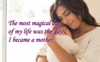 10 Best Baby and New Mom Quotes - 09 - The most magical day of my life